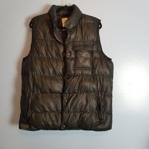 American Rag Black Puffer Vest sz Large